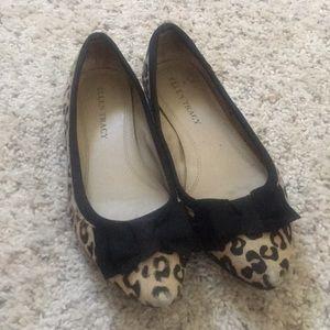 Ellen Tracy Cheetah Flats